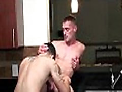 Twink sucks one-eyed monster gets anal fun