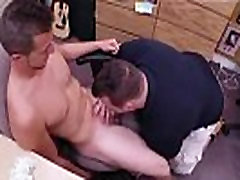 Straight gay moans handjob and jerking cock cum with condom sex