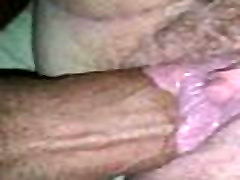 Cream pie dripping after fast nut in pink pussy