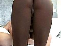 Round And Black - Ebony Fucked Hard By White Fat Dick 25