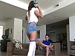 Nerdy Big Natural Tits Cassidy Banks Plays With BFs Dick While Parents Are Away