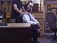 Straight ass amateur old man fucked the pawnshop owner hard in his anal