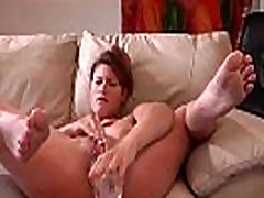 Incredibly Sexy MILF Squirting With her Dildo
