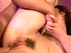 Hairy Winnie gets a hard cock stuffed in her hairy pussy 29