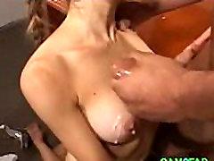Cum Over Teen Tits Free Brunette Porn Video
