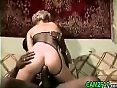 Blond Mature and Black Cock Free Hardcore Porn Video