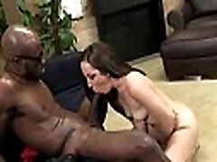 Huge black cock takes little white ass 23