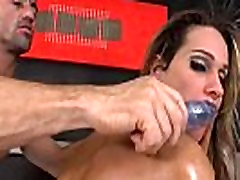 Shemale Bianca Sereia Gets Tag Teamed And Fucked