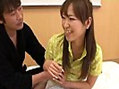 Asian golf bitch gets fucked and cummed on