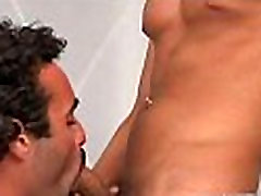 Lustful twink takes dick in mouth