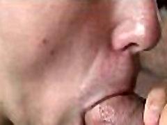 Gay sucks monstrous schlong