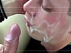Gay black facials movies Spitroasted by both in the back seat, he