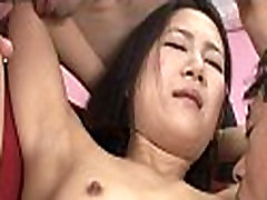 Hairy asian fur pie sucked and screwed