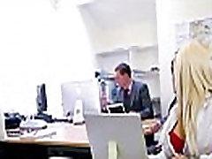 Big Melon Tits Worker Girl Fucks In Office clip-24