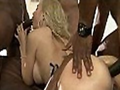 blonde whore gangbanged by a bunch of black dicks 1 clip09