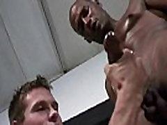 Gay Hardcore Interracial Bareback Sex 33
