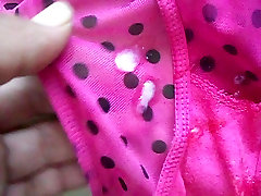 cum pink dirty panty