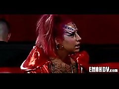 Emo slut with tattoos 0985