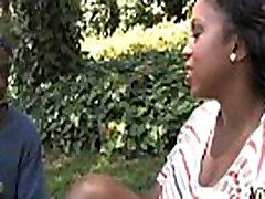 Interracial black slut hardcore group facial 10