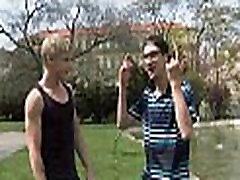 Naughty schlong riding with gay stud