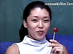 Hot Asian Can Hardly Take Jumbo Black Penis