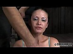 Girl enjoys cruel gratifying