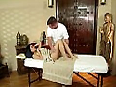Asian massage babe oral