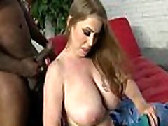 Mature MILF takes on big black cock 17