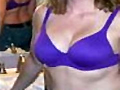 Hidden cam catches my mom masturbating several times
