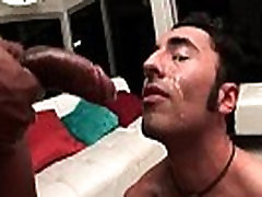 Gianni Luca gets ass pumped by black gay porn