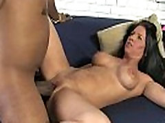 Huge black cock in tight mommys pussy 16