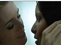 Rebecca Romijn Rie Rasmussen lesbian kiss in Femme Fatale