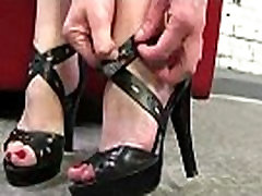 Black Meat White Feet - Sex with legs - foot fetish 27