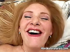 Hot mature tits creamed