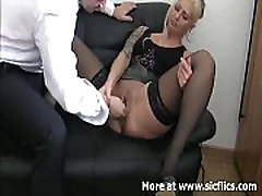 amateur blond fetish fist fisting fistfuck pussy vagina extreme kinky weird boss