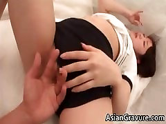 Sexy asian lady gives hot blowjob part5