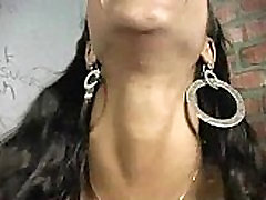 Glory gloryhole Black women sucking her first white dick 12