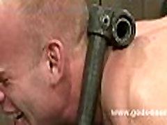 Gay slaves used in amazing bondage sex