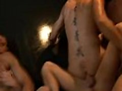 Gay group orgy hunks blowjobs