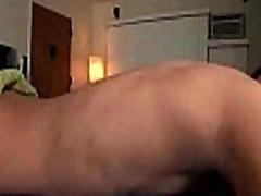 jerking my big dick
