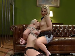 Fabulous lesbian, anal sex clip with incredible pornstars Tara Lynn Foxx and Ashley Fires from Whippedass