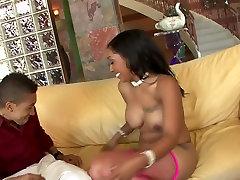 Crazy pornstar Donna Red in horny facial, cumshots porn scene