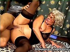 Diane in Granny Hardcore Movie
