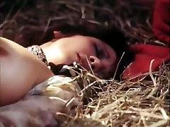 Pauline LaMonde, Dominique Santos, Sharon Mitchell in vintage porn movie