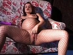 vintage preggo- Pregnant pussy poppers