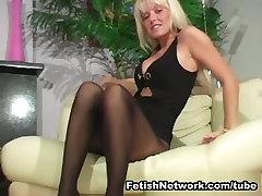 Jana Cova Gets Horny in her Little Black Dress