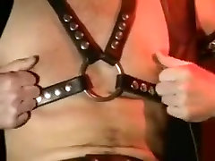 Hairy Bear Sex in Leather