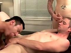 Crazy male pornstar in best tattoos, masturbation homo adult clip