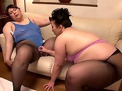 Japanese BBW Lesbian