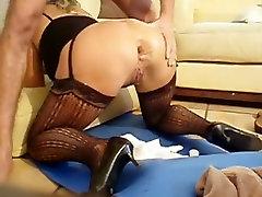 Painful anal fist fruit M90